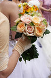 Little wedding bouquet Stock Photography