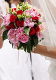 Little wedding bouquet Royalty Free Stock Photos