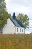 Little white chapel Stock Photography