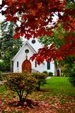 Little White Chapel Stock Image