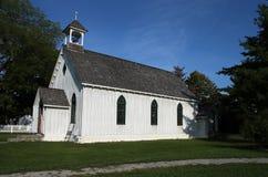 Little White Church Royalty Free Stock Photo