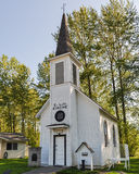 Little White Church Royalty Free Stock Photos