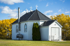 Little White Church Royalty Free Stock Photography