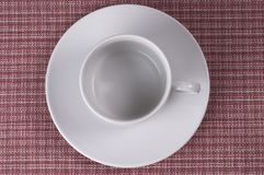 Little white coffee cup Royalty Free Stock Photo