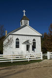 Little White Country Church Stock Images