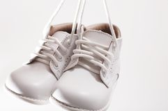 Little white shoes Royalty Free Stock Photography