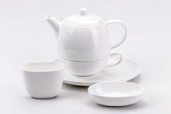 Little white tea cup Stock Photo