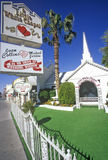 Little White Wedding Chapel, Las Vegas, NV Royalty Free Stock Photos