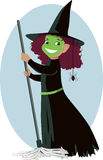 Little Wicked Witch Royalty Free Stock Images