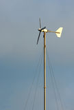 The little wind turbine custom handmade. Royalty Free Stock Photography