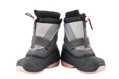 Little winter boots Royalty Free Stock Images