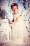 Little winter princess Royalty Free Stock Images