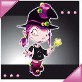 Little Witch Stock Image