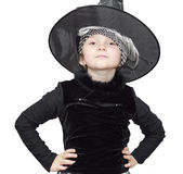 Little witch Royalty Free Stock Image