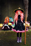 Little witch Royalty Free Stock Photos