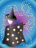Little wizard Stock Photo