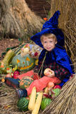 Little wizard Stock Image