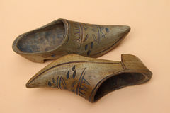Little Wooden Boots Stock Images