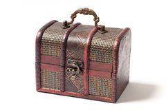 Little Wooden Casket - Stock Photo Royalty Free Stock Photography