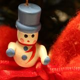 Little wooden Christmas decoration Royalty Free Stock Image