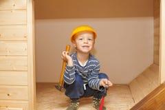 Little worker. Stock Photos