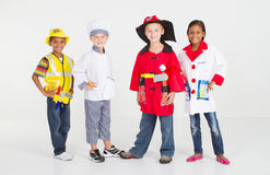 Little workers Stock Photos