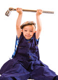 Little workman Royalty Free Stock Images