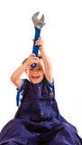 Little workman Royalty Free Stock Image