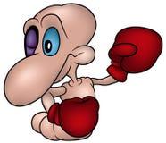 Little Worm Boxer royalty free illustration