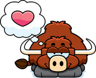 Little Yak in Love Royalty Free Stock Photo