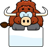 Little Yak Sign Royalty Free Stock Photos