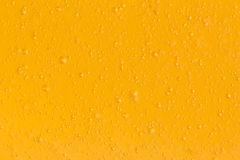 Little Yellow Bubble Closeup background texture Royalty Free Stock Image