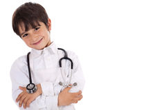 Little young boy doctor Stock Photography