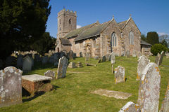 Littleham Church Exmouth Devon England Stock Photo