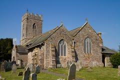 Littleham Kirche Exmouth Devon England lizenzfreie stockfotos