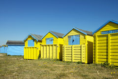 Littlehampton Beach Huts Royalty Free Stock Photos
