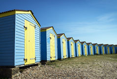 Littlehampton Beach Huts. Beach huts at Littlehampton, Sussex, UK Royalty Free Stock Image