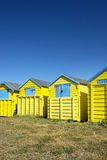Littlehampton Beach Huts Stock Images