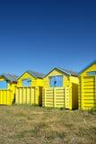 Littlehampton plaży budy Obrazy Stock