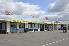 Littlehampton seafront shops, West Sussex, England Royalty Free Stock Photo