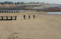 Littlehampton strand, Sussex, England Royaltyfri Fotografi