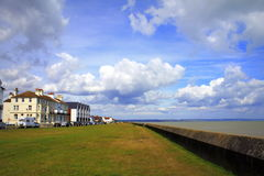 Littlestone sjösidasikt Kent United Kingdom Arkivfoto