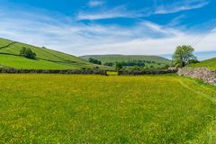 Litton, North Yorkshire, Engeland, het UK stock foto's