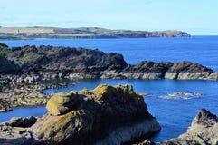 Littoral écossais Photographie stock