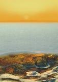 littoral Image stock