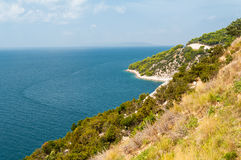 Littoral adriatique Image libre de droits
