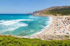 Littoral azuré de Majorque Image libre de droits