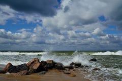 Littoral baltique Photographie stock libre de droits
