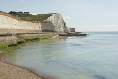 Littoral chez Rottingdean, le Sussex, Angleterre image stock