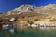 Littoral d'île de Kalymnos Photographie stock